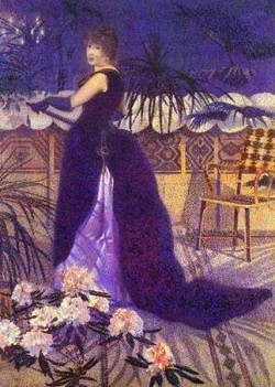 Mme hector france nee irma clare and later in 1893 mme henri edmond cross 1891 xx musee dorsay paris france