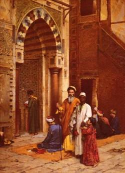 L Aveugle A La Mosquee