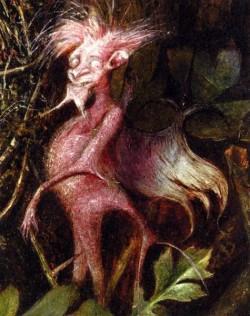 Fairies In A Birds Nest detail 4