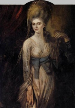 FUSELI John Henry Portrait Of A Young Woman