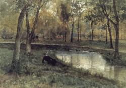 In the Bois de Boulogne Paris