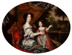 Portrait Of Barbara Villiers Countess of Castlemaine