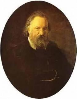 Portrait of the author alexander herzen 1867 the tretyako