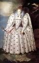 Portrait of queen elisabeth i 1592 london