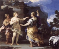 Venus Punishing Psyche With A task