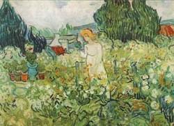 Marguerite gachet in the garden 1890 xx musee dorsay paris