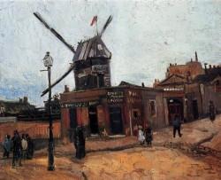 Van Gogh Vincent Le Moulin de la Galette