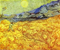 Van Gogh Vincent Reaper 1889