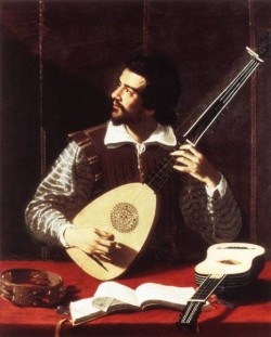 The Theorbo Player