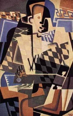 Harlequin with a Guitar 1917