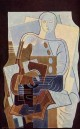 Pierrot with Guitar 1922