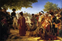 Napolean Pardoning the Rebels at Cairo