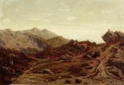 The Hills of Saint Loup 1859