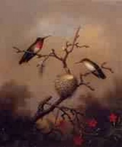 Ruby Throated Hummingbird 1864 1865jpeg