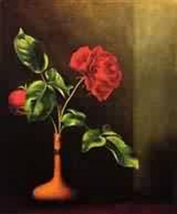 Still LIfe with Rose 1860 1865jpeg