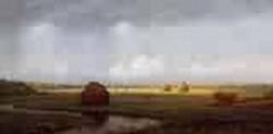 Sudden Shower Newbury Marshes 1866 1867jpeg