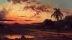 Sunset A Scene in Brazil 1864 1865jpeg