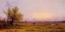 Sunset Marsh aka Sinking Sun 1868jpeg