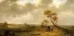 Two Hunters in a Landscape 1862jpeg