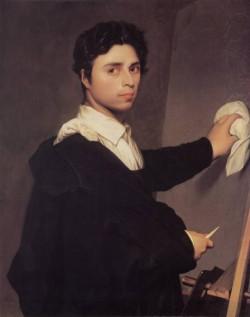 Ingres Copy after Ingres s 1804 Self Portrait