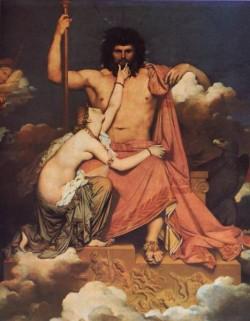Ingres Jupiter and Thetis