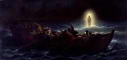 Le Christ marchant sur la mer