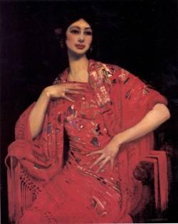 Lambert The Red Shawl