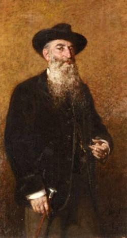 A Portrait Of A Distinguished Italian Gentleman