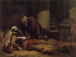 The Dying Warrior c1843