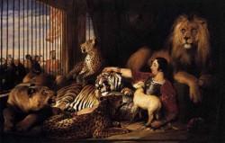 Isaac Van Amburgh And His Animals