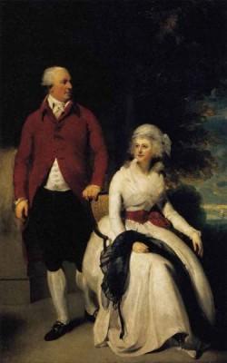 LAWRENCE Sir Thomas Mr And Mrs John Julius Angerstein