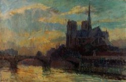 Notre Dame Paris Date unknown