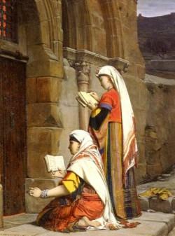 Nouy Jean Jules Antoine Lecomte du Chretiennes Au Tombeau De La Vierge Jerusalem