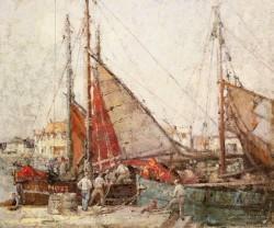 Fishing Boats Honfleur