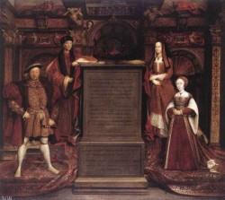 Henry VII Elizabeth Of York Henry VIII And Jane Seymour