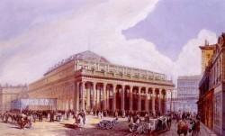 Vue Du Theatre De Victor Louis A Bordeaux