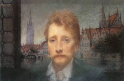 Portrait of Georges Rodenbach 1895
