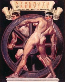 Strength and Service Turning the Wheel of Progress