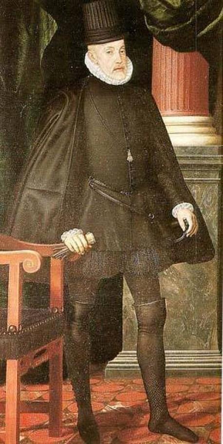 Philip ii xx monasterio de san lorenzo el escorial by de la