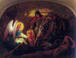 How an Angel rowed Sir Galahad JKAM
