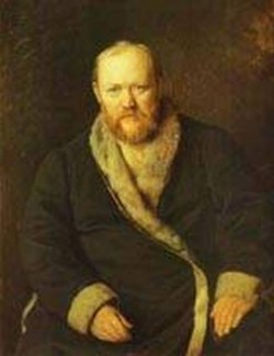 Portrait of the playwright alexander ostrovsky 1871 xx moscow russia