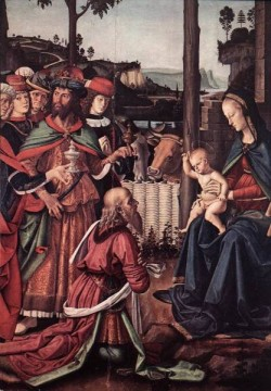 Adoration of the Kings Epiphany c1476 detail1
