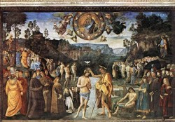Baptism of Christ c1482