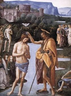 Baptism of Christ c1482 detail1