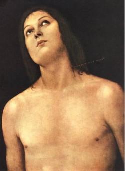 Bust of St Sebastian 1493 4