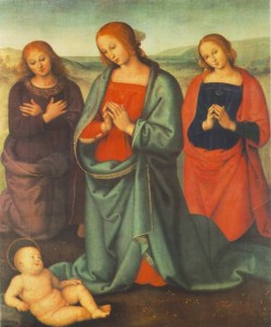 Madonna with Saints Adoring the Child 1503