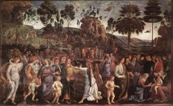 Moses s Journey into Egypt c1482