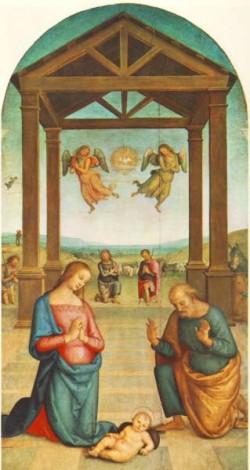 St Augustin Polyptych The Presepio 1506 10