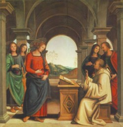 The Vision of St Bernard 1493