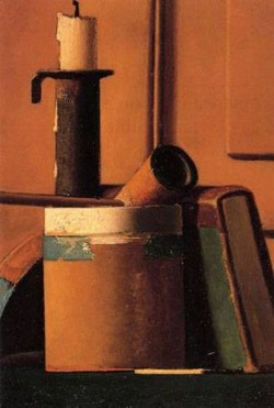 Still Life with Candlestick Pipe and Book